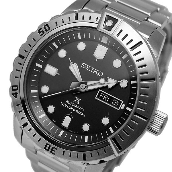 セイコー SEIKO プロスペックス 自動巻き メンズ 腕時計 SRP585K1 ブラック