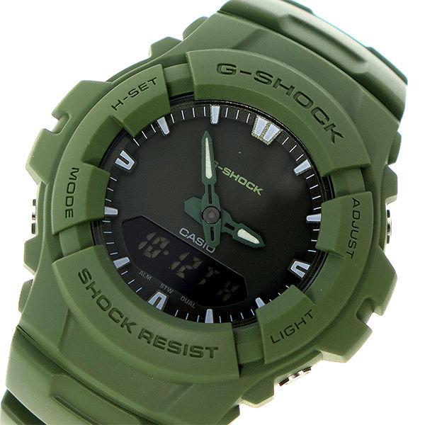 カシオ CASIO Gショック G-SHOCK クオーツ メンズ 腕時計 G-100CU-3A グレー