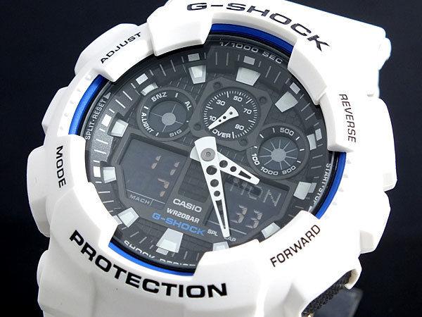 カシオ CASIO Gショック G-SHOCK ハイパーカラーズ メンズ 腕時計 GA-100B-7AJF 国内正規