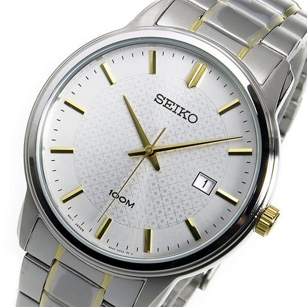 セイコー SEIKO クオーツ メンズ 腕時計 SUR197P1 ホワイト