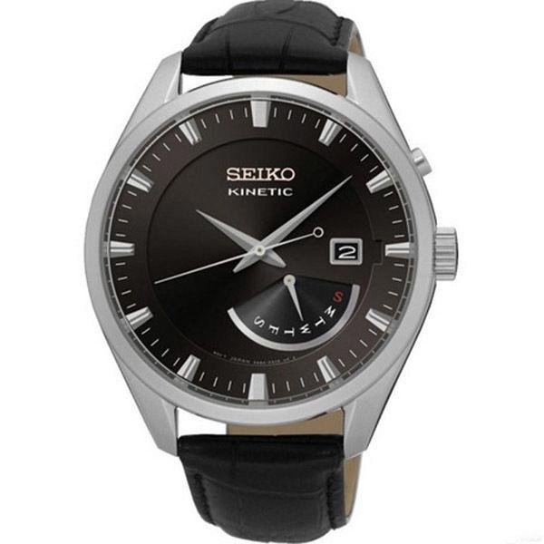セイコー SEIKO キネティック クオーツ メンズ 腕時計 SRN045P2 ブラック