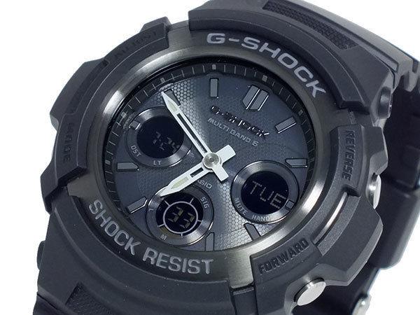カシオ CASIO Gショック G-SHOCK 電波 ソーラー マルチバンド5 メンズ 腕時計 AWG-M100B-1A