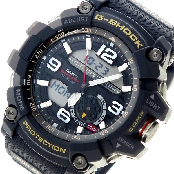 カシオ CASIO Gショック G-SHOCK クオーツ メンズ 腕時計 GG-1000-1A ブラック×ブラック
