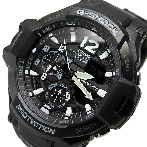 カシオ CASIO Gショック G-SHOCK クオーツ メンズ 腕時計 GA-1100-1A ブラック