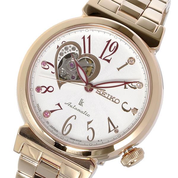 セイコー SEIKO ルキア LUKIA 自動巻き レディース 腕時計 SSA834J1 ホワイト