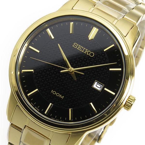 セイコー SEIKO クオーツ メンズ 腕時計 SUR200P1 ブラック