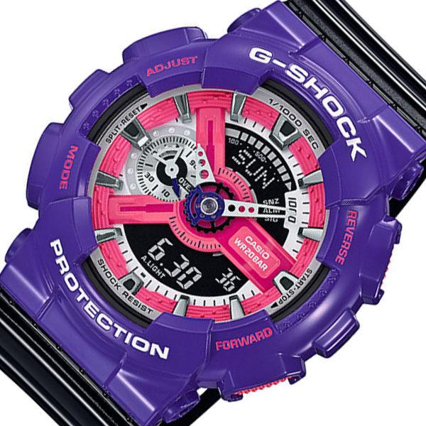カシオ CASIO Gショック クオーツ メンズ 腕時計 GA-110NC-6A ブラック