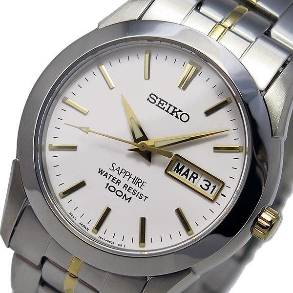 セイコー SEIKO クオーツ メンズ 腕時計 SGG719P1 ホワイト