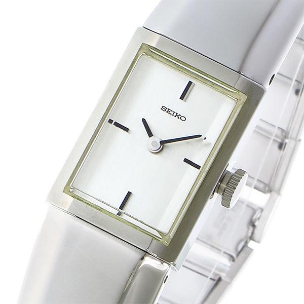 セイコー SEIKO 手巻き レディース 腕時計 ZWB17 シルバー