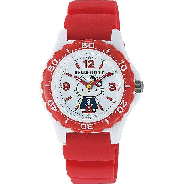 シチズン CITIZEN ハローキティ レディース 腕時計 VQ75-232 レッド