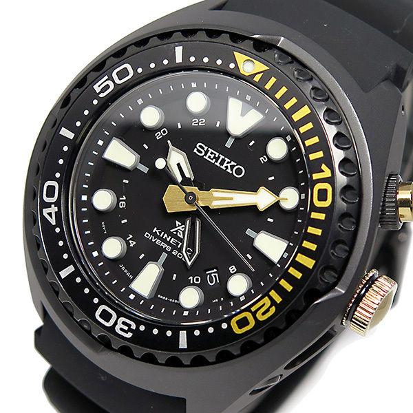 セイコー プロスペックス キネティック クオーツ メンズ 腕時計 SUN045P1 ブラック