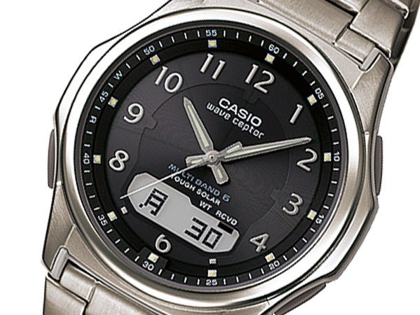 カシオ WAVE CEPTOR 電波 メンズ 腕時計 ブラック WVA-M630TDE-1AJF 国内正規