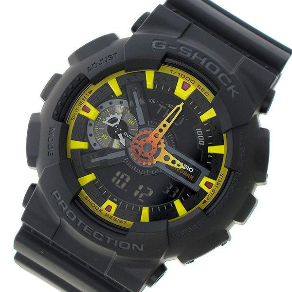 カシオ CASIO Gショック G-SHOCK クオーツ メンズ 腕時計 GA-110BY-1A ブラック