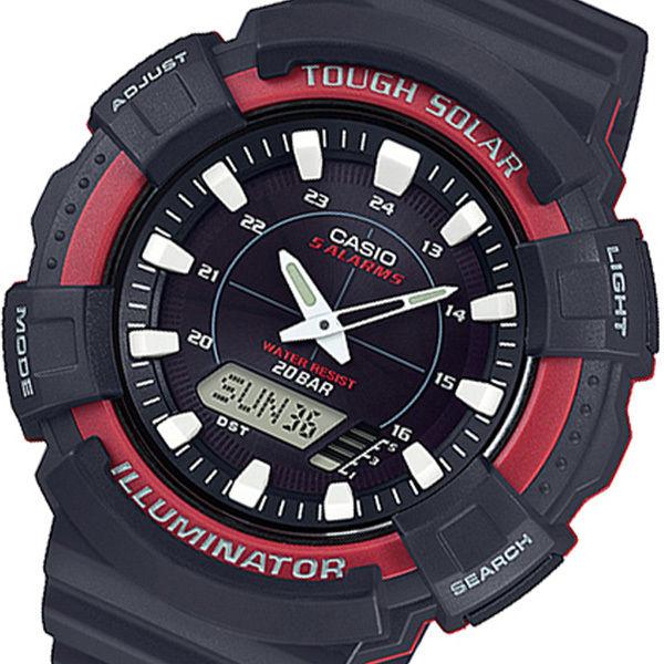カシオ CASIO アナデジ クオーツ メンズ 腕時計 AD-S800WH-4AJF ブラック 国内正規