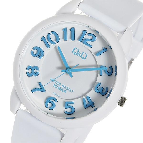 シチズン キューアンドキュー クオーツ ユニセックス 腕時計 VR66-005 ホワイト