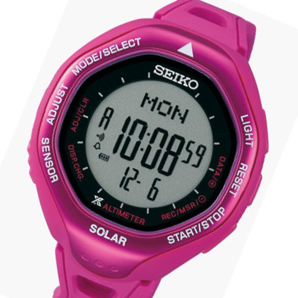 セイコー プロスペックス クオーツ メンズ 腕時計 SBEB023 ローズピンク 国内正規