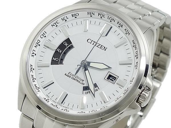 シチズン CITIZEN エコドライブ ソーラー メンズ 電波腕時計 CB0011-51A