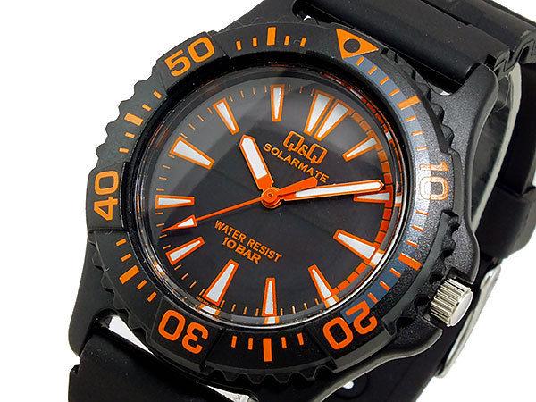 シチズン キューアンドキュー Q&Q ソーラー メンズ 腕時計 H030-002