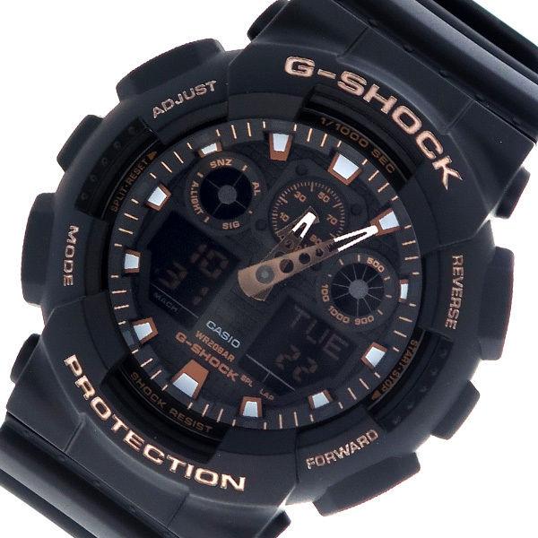 カシオ CASIO Gショック G-SHOCK クオーツ メンズ 腕時計 GA-100GBX-1A4 ブラック×ブロンズ