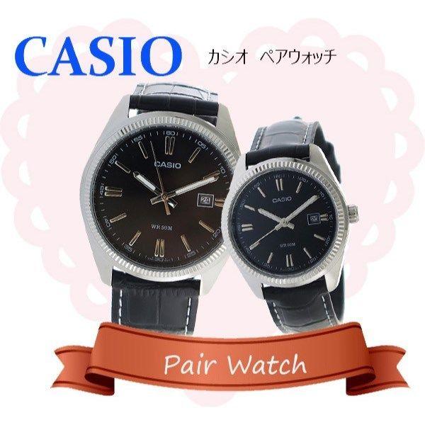 【ペアウォッチ】 カシオ CASIO チープカシオ ユニセックス 腕時計 MTP-1302L-1A LTP-1302L-1A