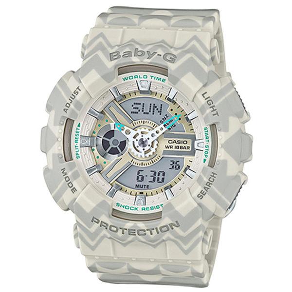 カシオ CASIO ベビーG BABY-G トライバル クオーツ レディース 腕時計 BA-110TP-8A グレートライバル