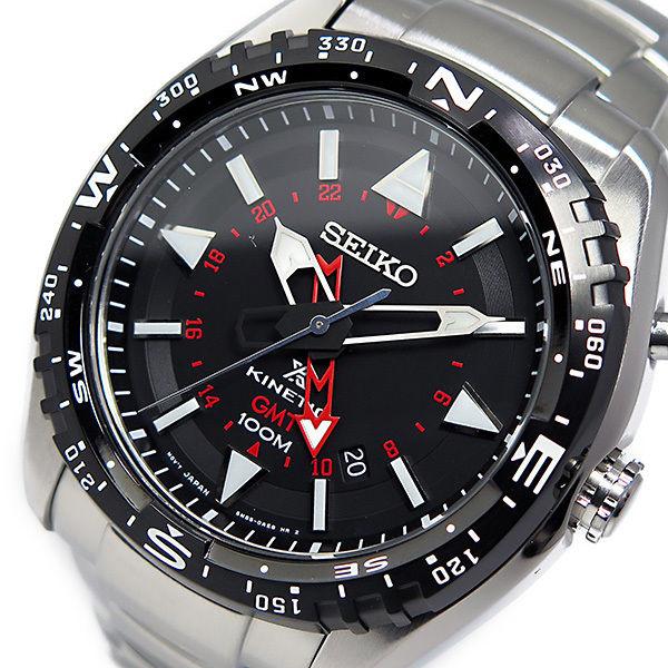 セイコー プロスペックス キネティック クオーツ メンズ 腕時計 SUN049P1 ブラック