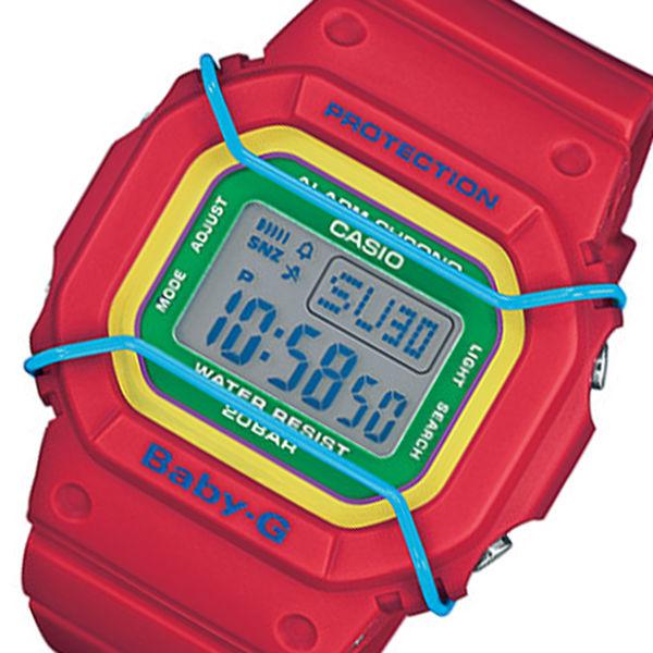 カシオ ベビーG プロテクターモデル クオーツ レディース 腕時計 BGD-501-4B レッド
