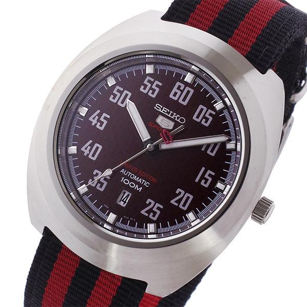 セイコー SEIKO セイコー5 スポーツ 5 SPORTS 自動巻き メンズ 腕時計 SRPA87K1 レッド/ブラック