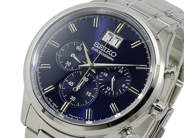 セイコー SEIKO クロノグラフ メンズ 腕時計 SPC081P1