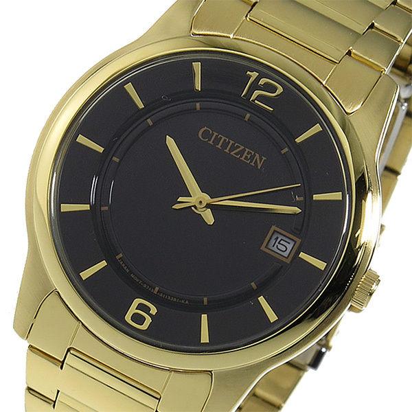 シチズン CITIZEN クオーツ メンズ 腕時計 BD0023-56E ブラック