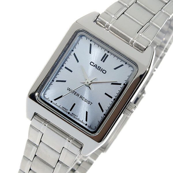 カシオ CASIO クオーツ レディース 腕時計 LTP-V007D-2E アイスブルー