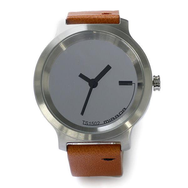 タックス TACS MIRROR メンズ 腕時計 TS1502B ミラー×キャメル