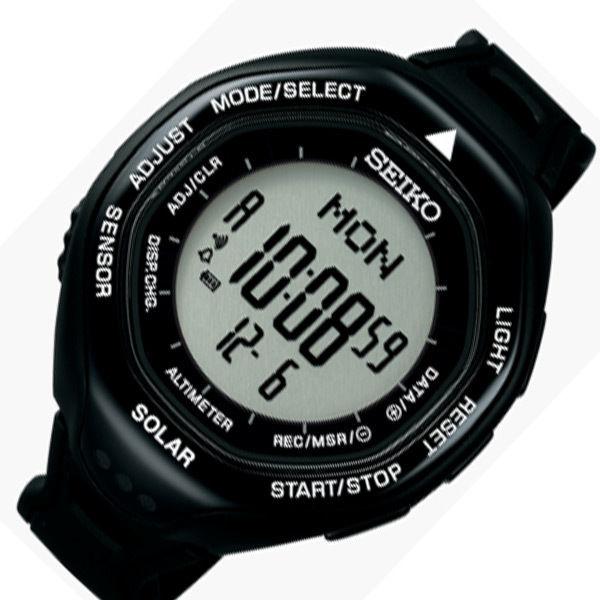 セイコー プロスペックス ソーラー メンズ 腕時計 SBEB001 ブラック 国内正規