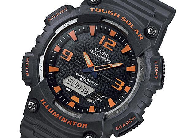 カシオ CASIO スタンダード ソーラー メンズ 腕時計 AQ-S810W-8AJF 国内正規
