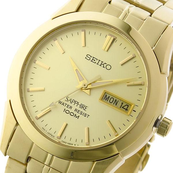 セイコー SEIKO クオーツ ユニセックス 腕時計 SGGA62P1 ゴールド