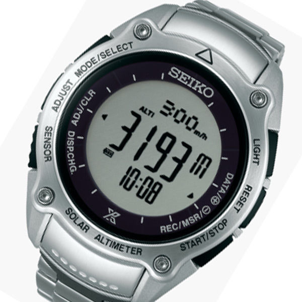 セイコー プロスペックス ソーラー メンズ 腕時計 SBEB013 シルバー 国内正規