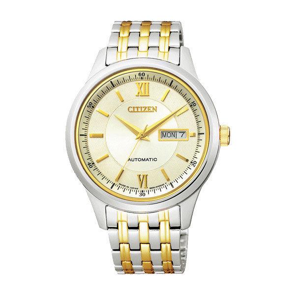 シチズン CITIZEN シチズンコレクション メンズ 自動巻き 腕時計 NY4054-53P 国内正規