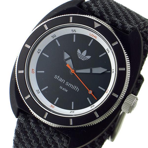 アディダス ADIDAS スタンスミス STAN SMITH クオーツ メンズ 腕時計 ADH3155 ブラック