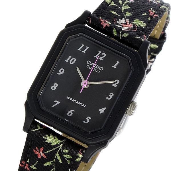 カシオ CASIO スタンダード クオーツ レディース 腕時計 LQ-142LB-1B ブラック