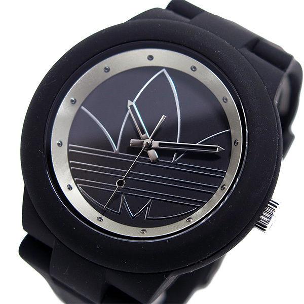 アディダス ADIDAS アバディーン クオーツ ユニセックス 腕時計 ADH3048 ブラック