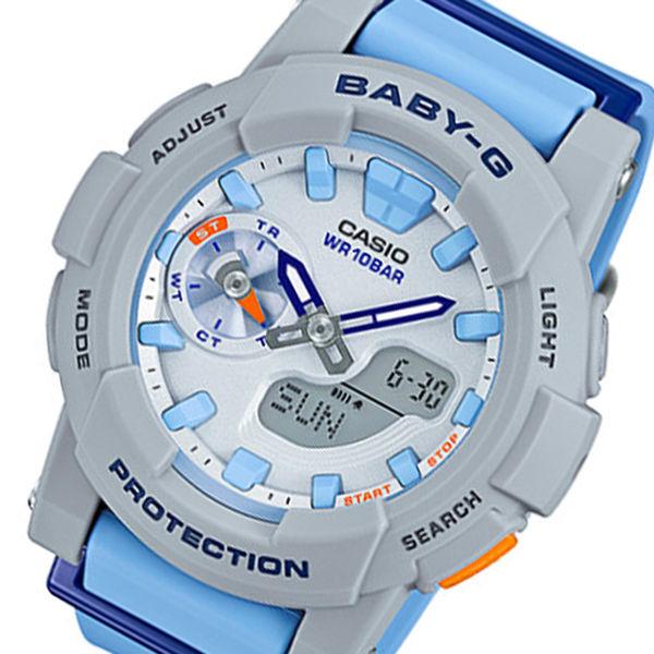 カシオ ベビーG フォーランニング クオーツ レディース 腕時計 BGA-185-2A ホワイト