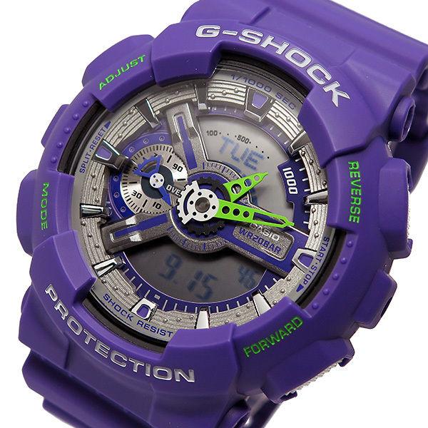 カシオ CASIO Gショック G-SHOCK クオーツ メンズ 腕時計 GA-110DN-6A パープル