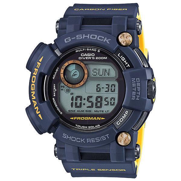 カシオ CASIO Gショック G-SHOCK フロッグマン FROGMAN メンズ 腕時計 GWF-D1000NV-2JF ネイビー 国内正規