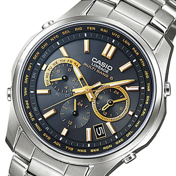 カシオ リニエージ 電波 ソーラー メンズ 腕時計 LIW-M610TDS-1A2JF ブラック 国内正規