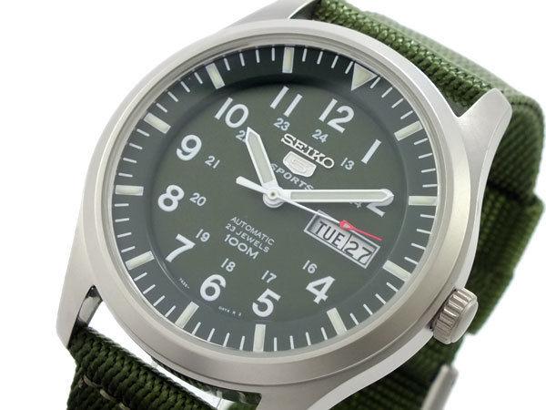 セイコー SEIKO セイコー5 スポーツ 5 SPORTS 自動巻き メンズ 腕時計 SNZG09K1