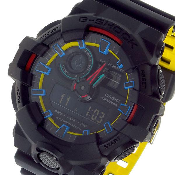 カシオ CASIO Gショック G-SHOCK クオーツ メンズ 腕時計 GA-700SE-1A9JF ブラック/マルチ