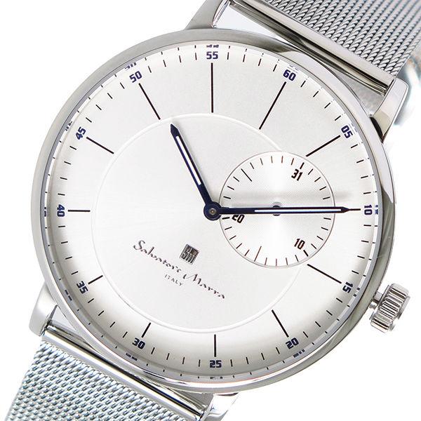 サルバトーレマーラ SALVATORE MARRA クオーツ メンズ 腕時計 SM17105M-SSSV シルバー