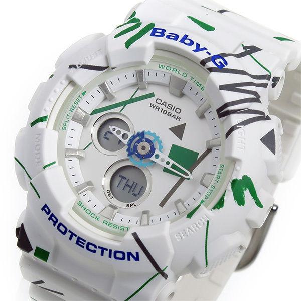 カシオ ベビーG BABY-G クオーツ レディース 腕時計 BA-120SC-7A ホワイト