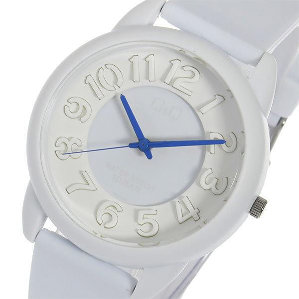 シチズン キューアンドキュー クオーツ ユニセックス 腕時計 VR66-006 ホワイト