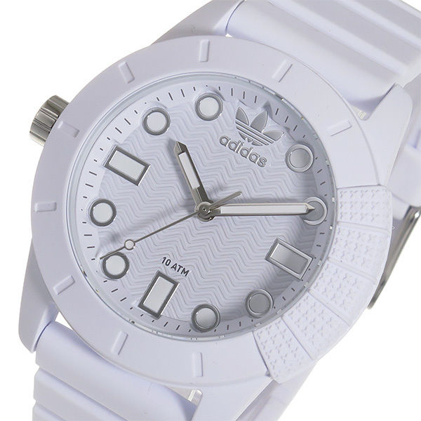 アディダス ADIDAS スーパースター クオーツ メンズ 腕時計 ADH3102 ホワイト
